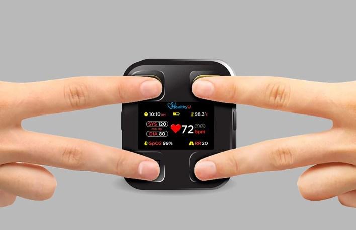 CES 2021 Healthy U Monitor Cardiaco