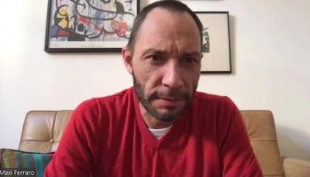 El presidente de la Coalición Cívica, Maximiliano Ferraro
