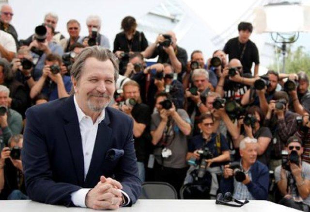 El actor y director Gary Oldman en Cannes en 2018 (Reuters)
