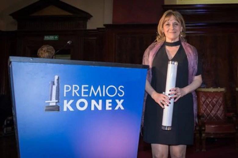 En 2017, Hinde Pomeraniec recibió el Konex de Platino en la categoría Literaria (Foto: Martín Rosenzveig)