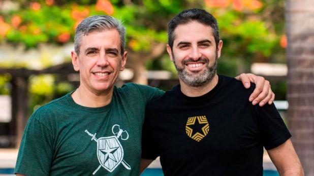 Pace y Woloski, cofundadores de la empresa de autenticación que es el quinto unicornio local