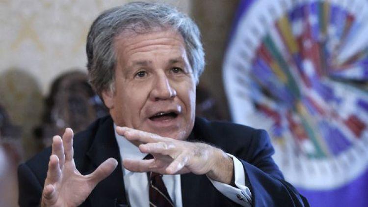 El secretario general de OEA, Luis Almagro