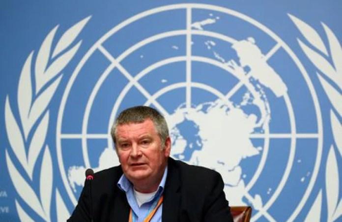 Mike Ryan, director ejecutivo de la OMS para Emergencias Sanitarias (REUTERS/Denis Balibouse)