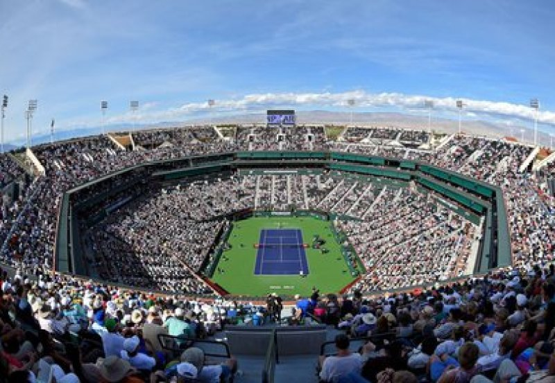 File Image: A general view of Stadium 1 during the third round match between Roger Federer and Filip Krajinovic at the BNP Paribas Open at the Indian Wells Tennis Garden in Indian Wells, California, USA.  on March 12, 2018 (Jayne Kamin-Oncea-USA TODAY Sports)
