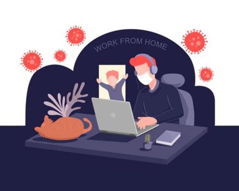 ¿De qué hablamos cuando nos referimos a home office? Toda actividad laboral que se realiza fuera de las instalaciones de una empresa mediante la utilización de tecnologías (Shutterstock)