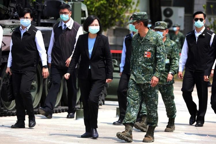 Tsai Ing-Wen, presidenta de Taiwán (Reuters/ Ann Wang)