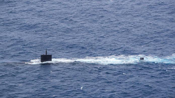 Submarino Greeneville (SSN 772) - islas malvinas