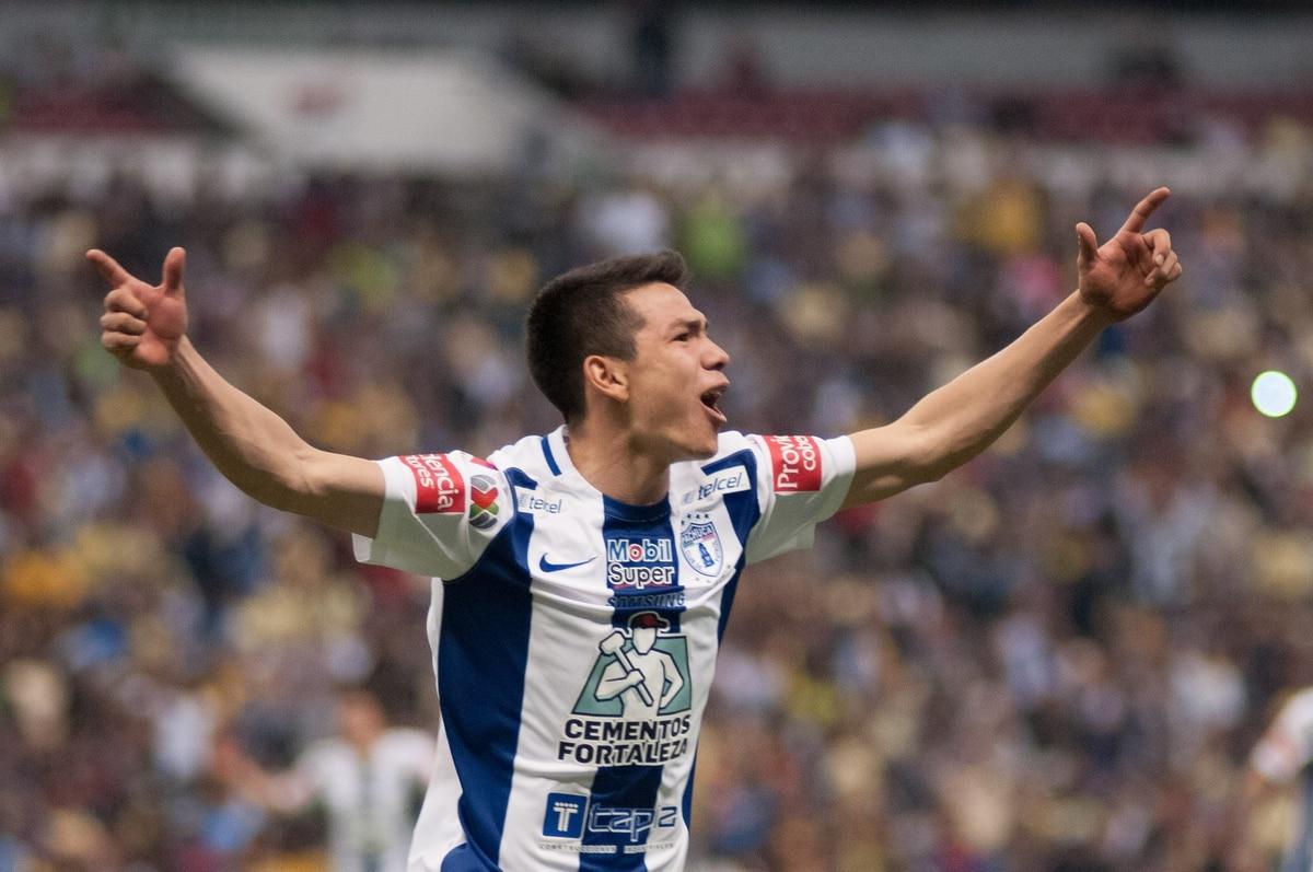 """La millonaria cantidad que recibiría Pachuca por la transferencia del """"Chucky"""" Lozano al Napoli"""