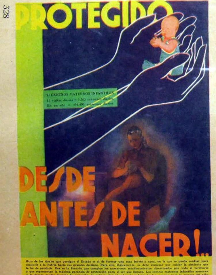 """La página 328 de """"La Nación Argentina justa, libre y soberana"""""""