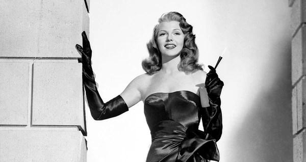 Rita Hayworth en Gilda
