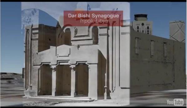 Luego de la muerte de Muammar Khadafi, cuyo gobierno había confiscado todas las propiedades judías, el antisemitismo en Libia impidió la reapertura de la sinagoga de Dar Bishi. (diarna.org)