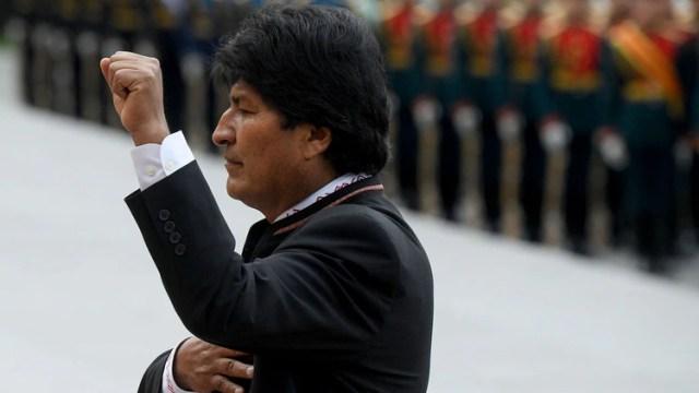 Evo Morales (AFP)