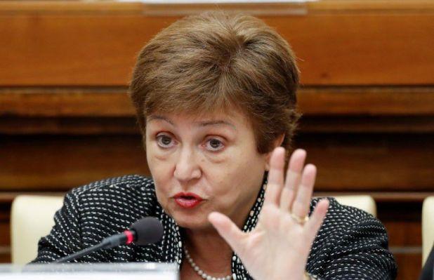 La directora gerente del Fondo Monetario Internacional, Kristalina Georgieva (REUTERS/Remo Casilli)