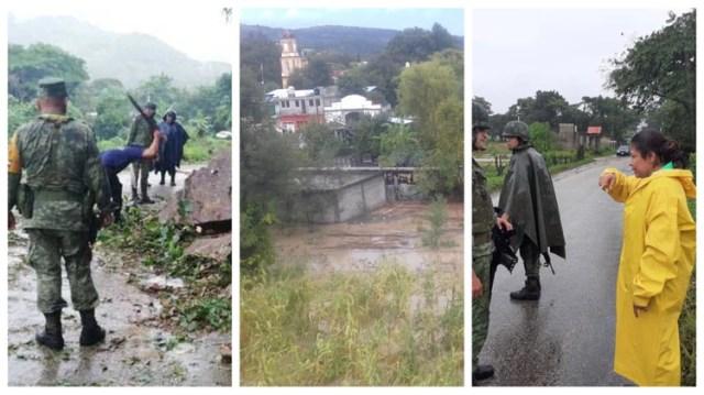 La depresión tropical dejó al menos 300 damnificados en Oaxaca (Foto: Especial)