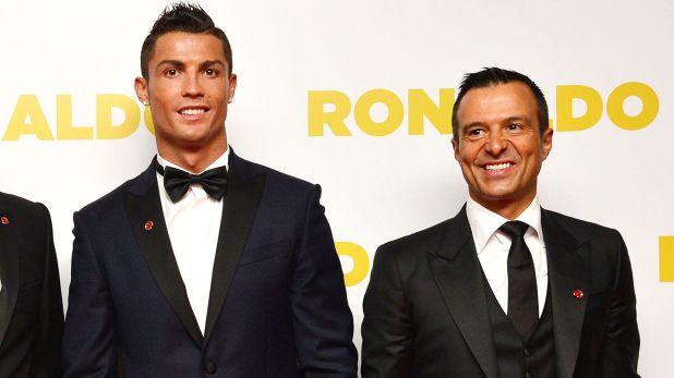Jorge Mendes, agente de Cristiano Ronaldo, optó por el silencio (Shutterstock)