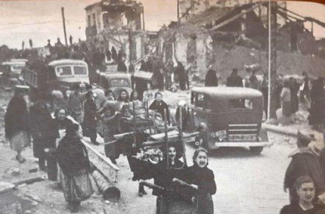 Miles de sanjuaninos no tenían dónde ir y dependieron de la ayuda oficial.