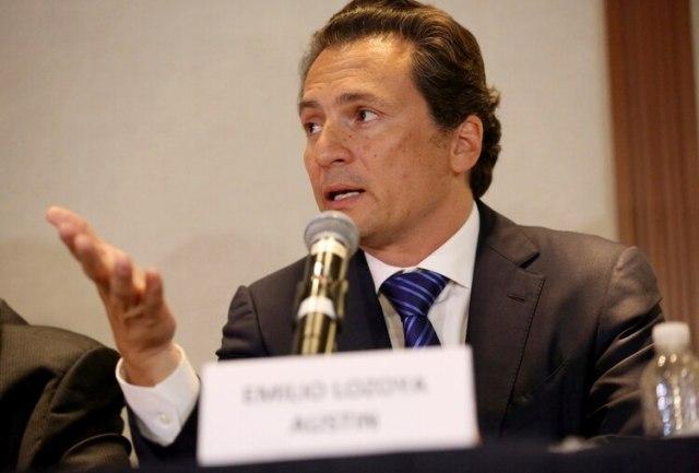 Emilio Lozoya, ex director de Pemex, está acusado de lavado de dinero y asociación delictuosa (AP Foto/Gustavo Martinez Contreras, Archivo)