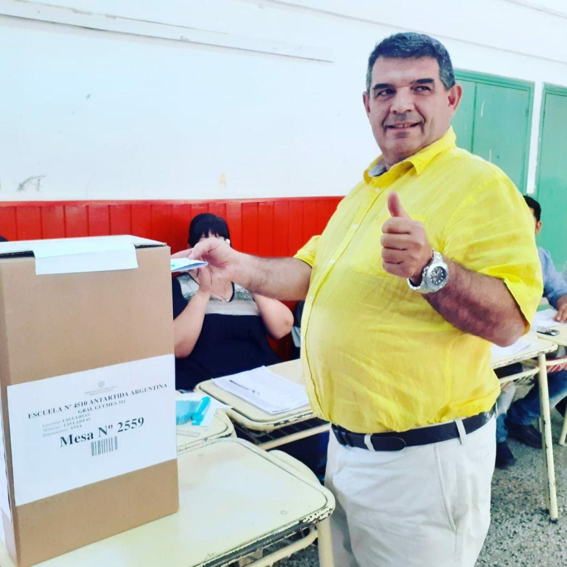 El diputado nacional y candidato a gobernador de Salta, Alfredo Olmedo
