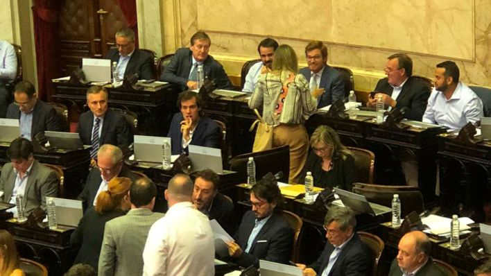 Nicolás Massot estuvo reunido con diputados de diferentes bloques