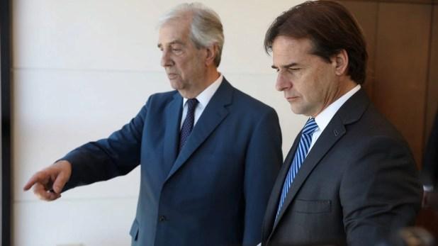 Lacalle Pou y Tabaré Vázquez también estarán presentes en la asunción de Alberto Fernández