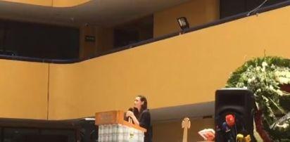 La novia de Norberto Ronquillo le prometió que no se alejaría de su familia (Foto: screenshot video)