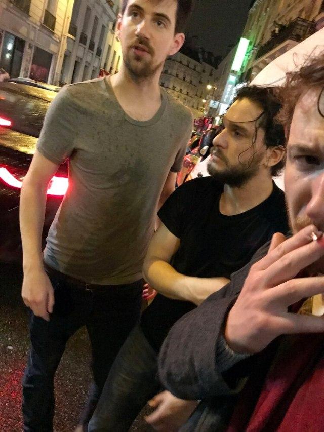Kit Harington fue tratado ebrio en las calles de París en 2018 (The Grosby Group)