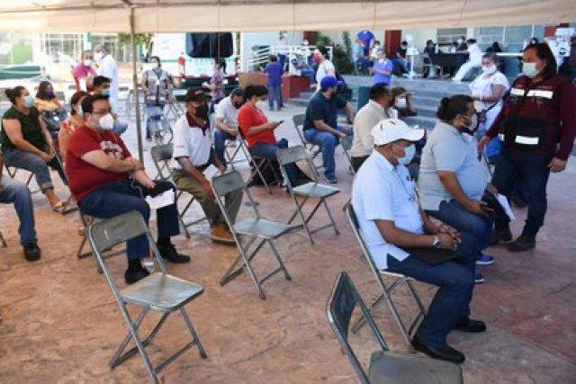 El 71 por ciento del personal docente en Campeche ha recibido el esquema completo de vacunación (Foto: Michael Balam/cuartoscuro.com)