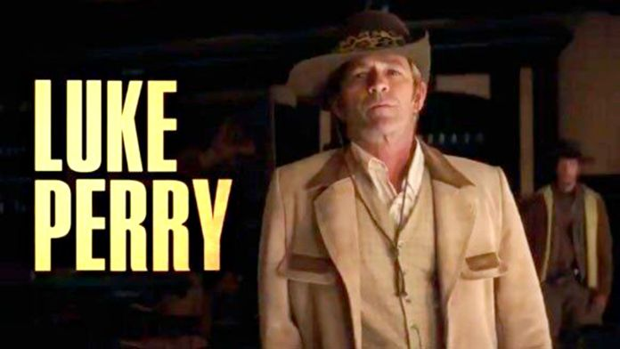 "Luke Perry es una escena de ""Once Upon a Time in Hollywood"""