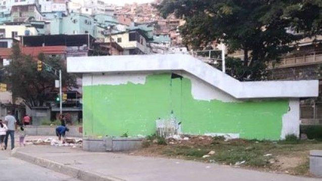El mural ya no existe