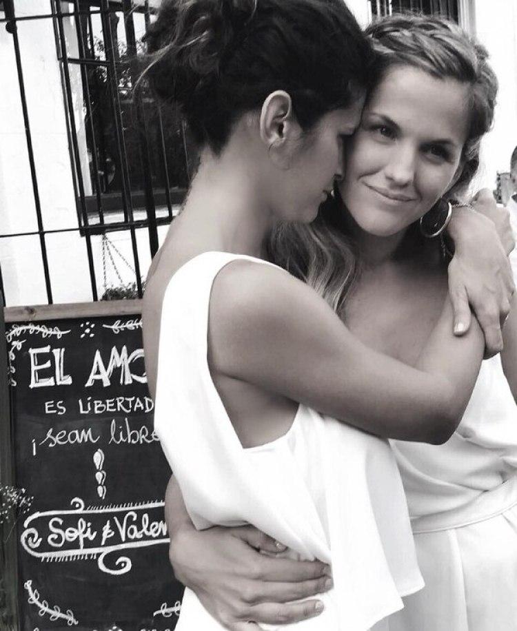 Un recuerdo del día de su casamiento (Instagram)