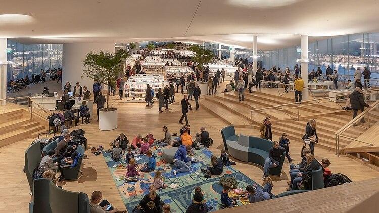 La biblioteca Oodi, en Helsinki
