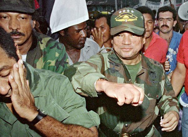 Noriega en una foto de 1989 (AFP)