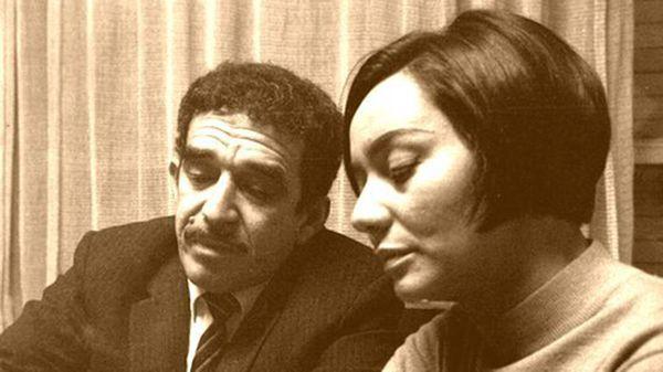 García Márquezy su esposa, Mercedes Barcha, en Buenos Aires (Gentileza Sara Facio)