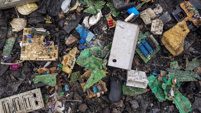 Sólo se recicla entre el 12,5 y el 20% del total de 50 millones de toneladas métricas de e-waste.