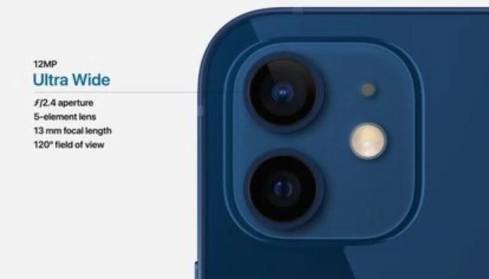 El iPhone 12 tiene cámara trasera dual