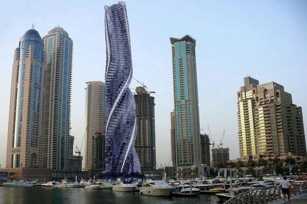 La torre decorará una ciudad plagada de opulencia y excentricidad