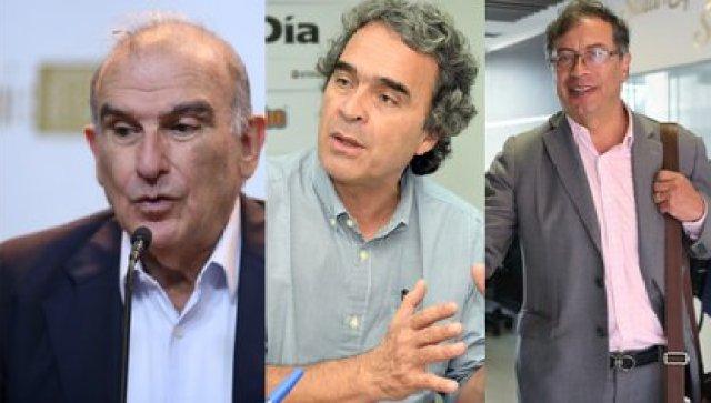 De la Calle, Fajardo y Petro tienen una imagen favorable por encima del 40 por ciento. Foto: Colprensa