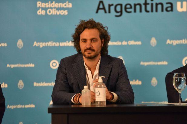 Santiago Cafiero, jefe de Gabinete (Foto: Franco Fafasuli)