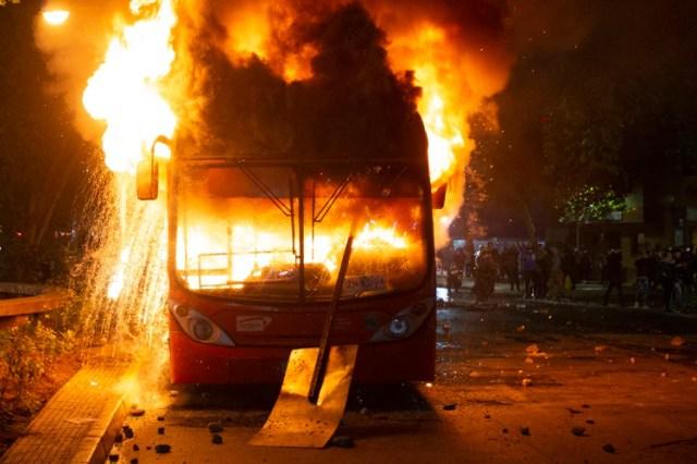 (Photo by CLAUDIO REYES / AFP)