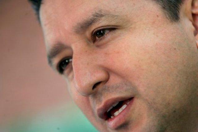 El periodista colombiano Herbin Hoyos. EFE/ J.LIZON/Archivo