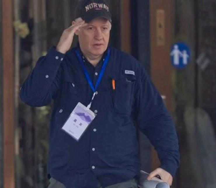 Peter Daszak, miembro del equipo de investigación de la OMS que viajó a Wuhan (EFE/ EPA/ Alex Plavevski/ archivo)