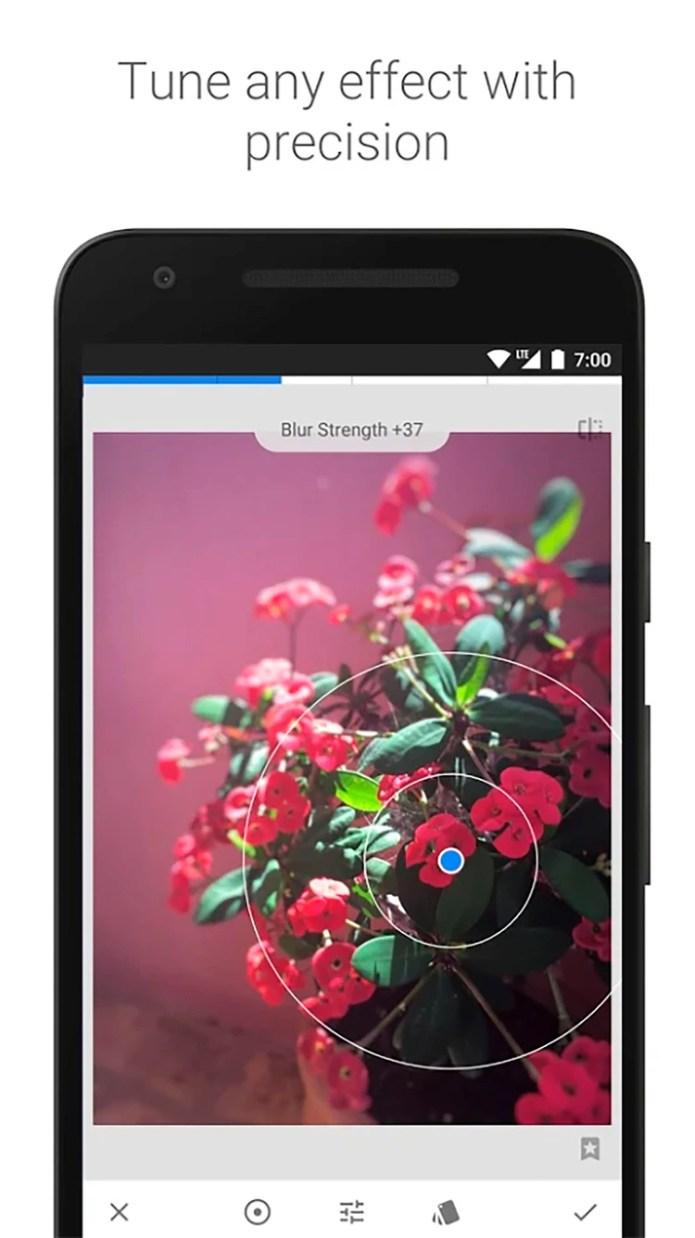Snapseed es una app muy reconocida para editar imágenes.
