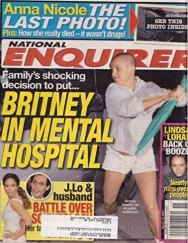 El incidente de Britney y la sombrilla, hace más de 10 años