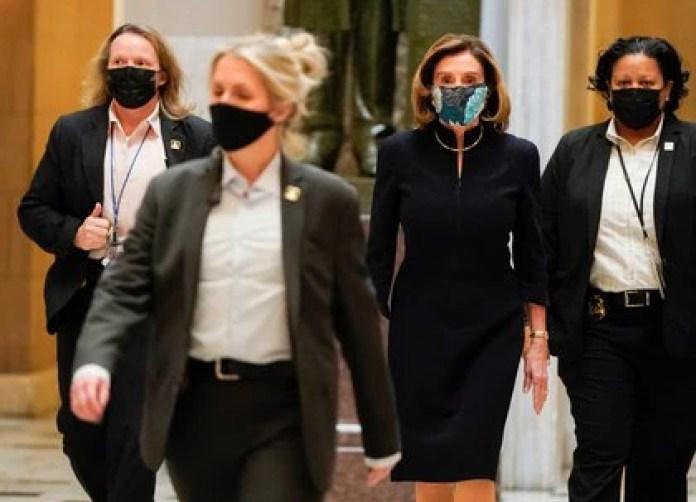 Nancy Pelosi, líder de la Cámara de Representantes (REUTERS/Joshua Roberts)