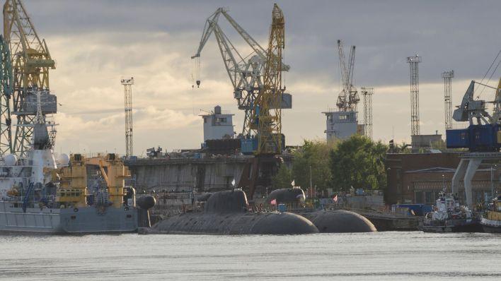 Submarinos nucleares en el puerto de Severodvinsk (Shutterstock)