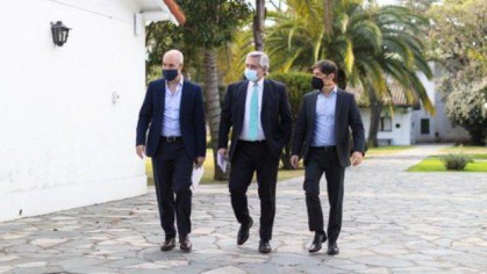 Los tres gobernantes se reunirán esta semana para definir cómo será la extensión de la cuarentena