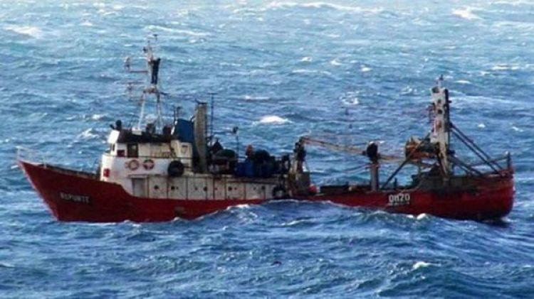 """El buque """"Repunte"""""""