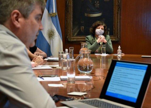 Carla Vizzotti, en la última reunión con ministros de Salud de las provincias