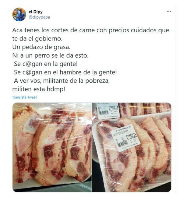 El Dipy - precios populares - carne