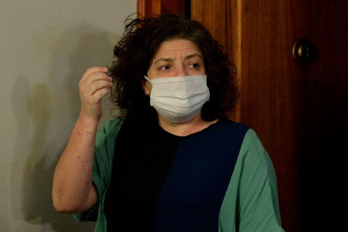 Carla Vizzotti quedó al frente del Ministerio de Salud (EFE/Juan Mabromata)